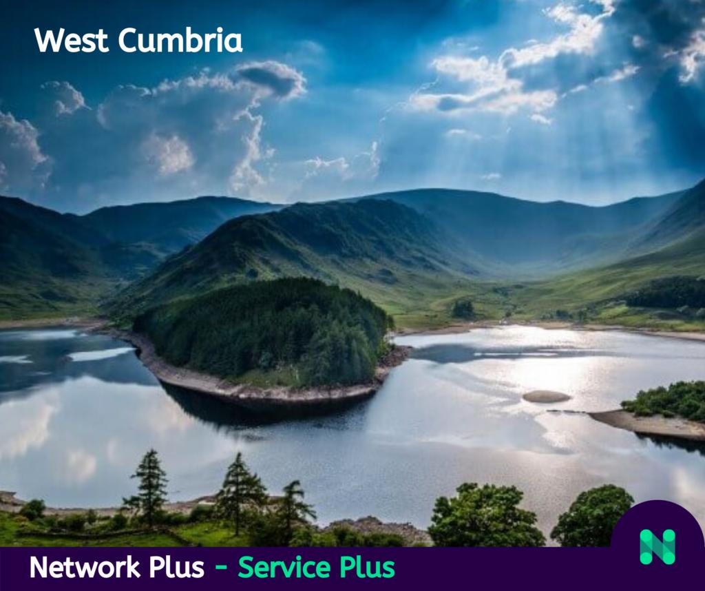 West cumbria network plus infrastructure