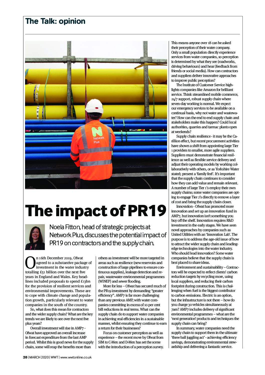 WWT Online – The Impact of PR19