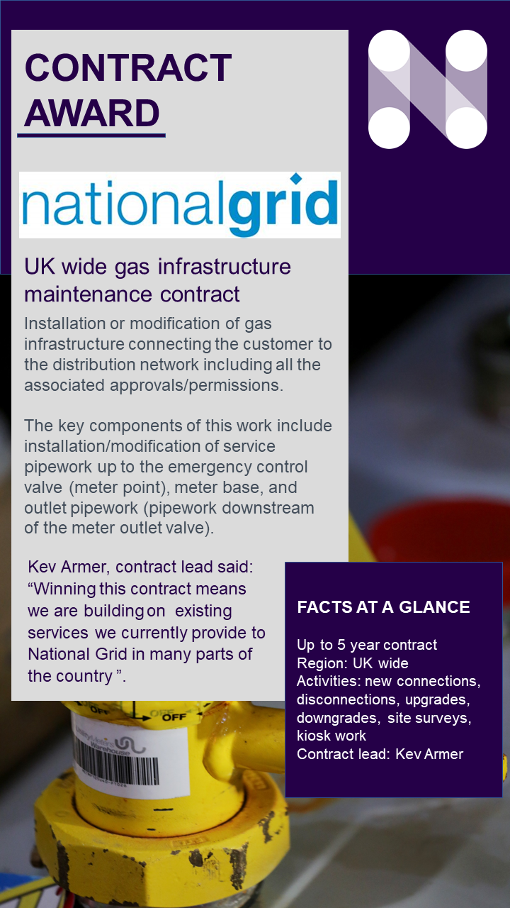 National Grid gas infrastructure
