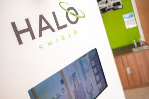 State of the art Halo system used to reduce COVID-19 risk