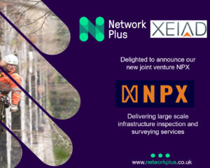 Network Plus and XEIAD join forces to offer large scale infrastructure inspection and surveying services
