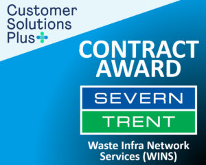 Major Severn Trent wastewater contract awarded to Customer Solutions Plus