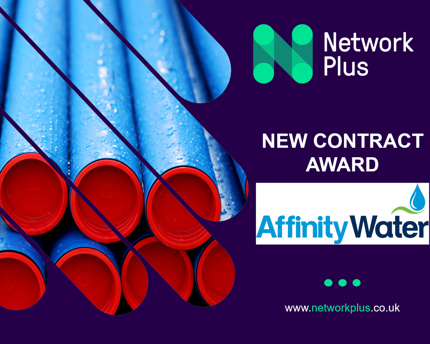 Affinity Water appoints Network Plus for Developer Services contract