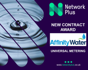 Affinity Water appoints Network Plus for universal metering contract