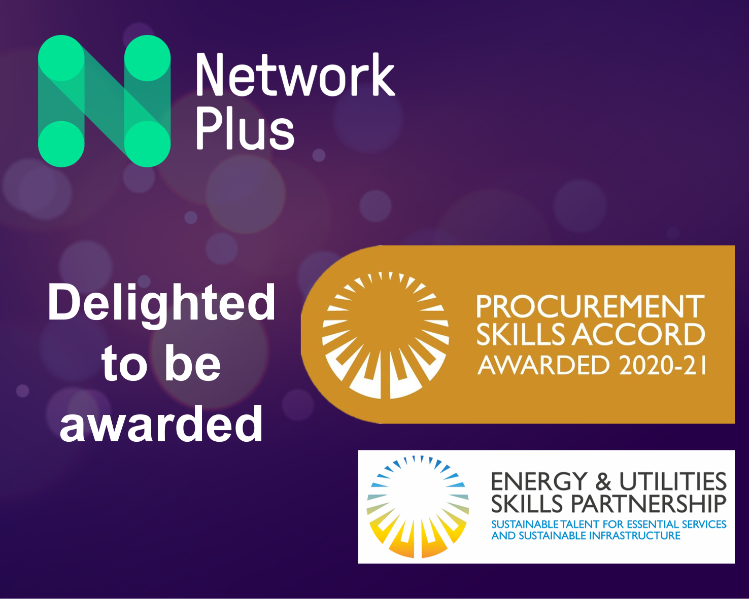 Network Plus wins at the Procurement Skills Accord Awards 2021