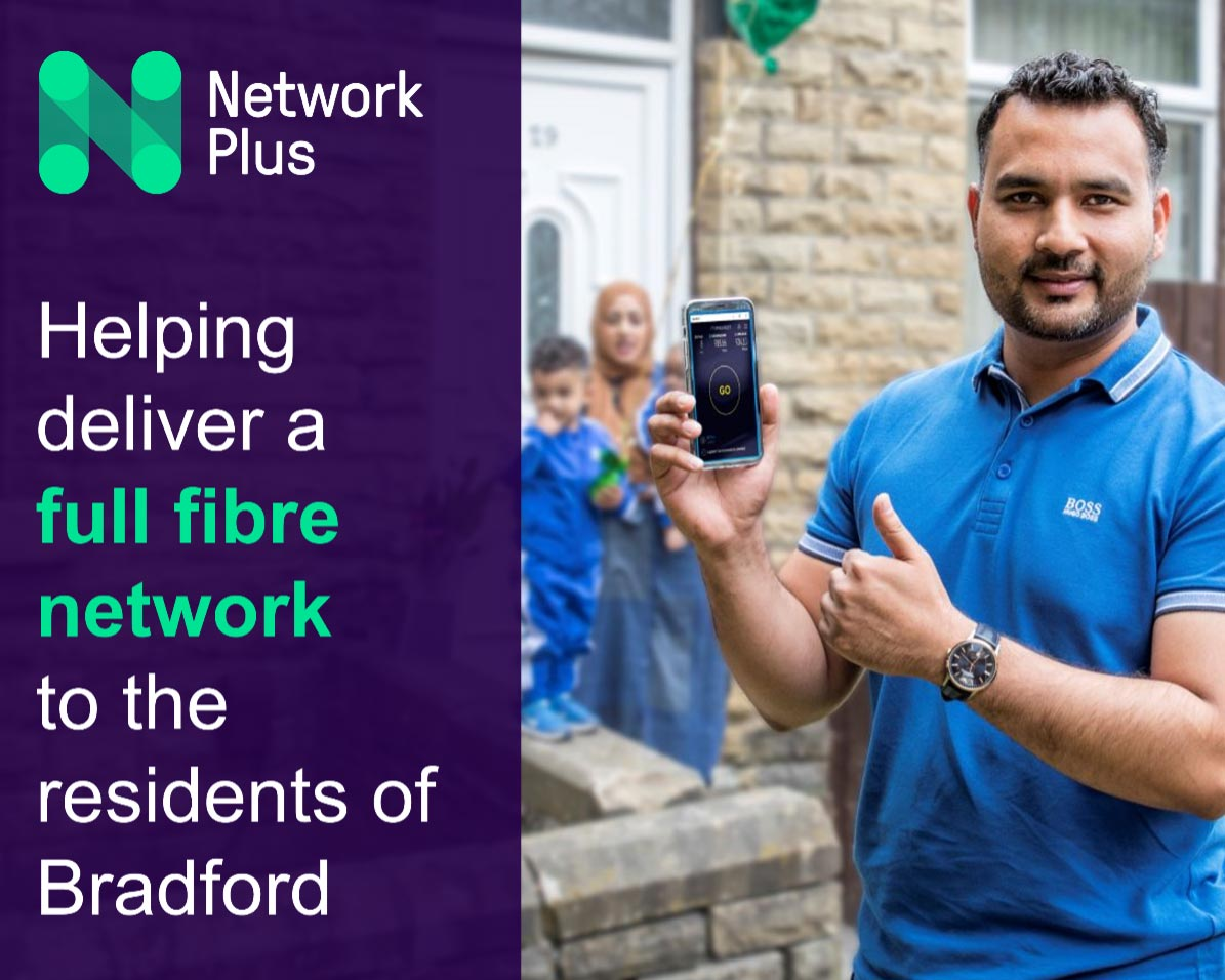 First Bradford residents experience full-fibre benefits as CityFibre project progresses